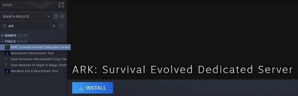 ARK Survival Evolved Dedicated Server Install