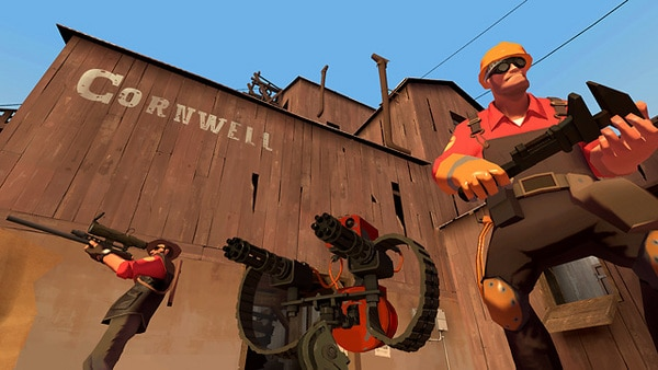 TF2 photos from Steam