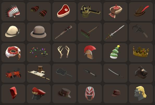 tf2 items
